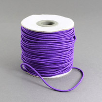 Violet Elastic Cord 2mm Round 40m Roll