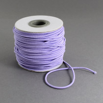 Lilac Elastic Cord 2mm Round 30m Roll