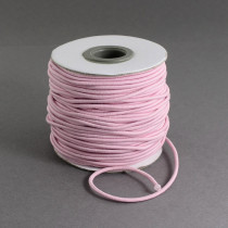 Pink Elastic Cord 2mm Round 40m Roll