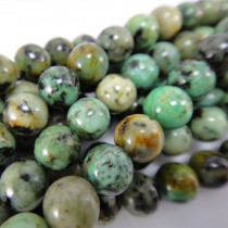 African Turquoise Round 6mm Beads