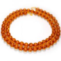 Imitation Amber 6mm Round Beads