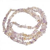 Ametrine 3x5mm Chip Beads
