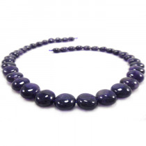 Amethyst 10mm Coin Beads