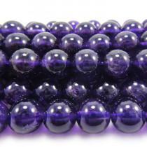 Amethyst 8mm Round Beads