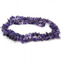 Amethyst Chip Beads