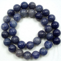 Blue Aventurine 12mm Round Beads
