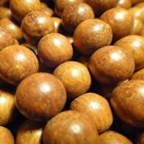 Bayong 10mm Round Wood Beads