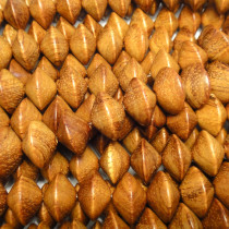 Bayong Large Saucer Wood Beads
