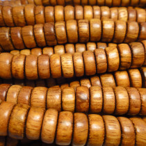 Bayong Pucalet 10x5mm Wood Beads