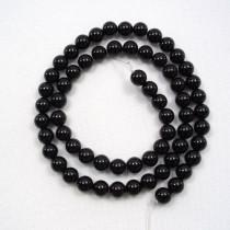 Black Onyx 6mm Round Beads