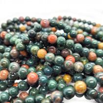 Bloodstone 6mm Round Beads