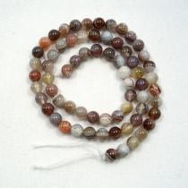 Botswana Agate 6mm Round Beads