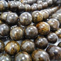 Bronzite 10mm Round Beads
