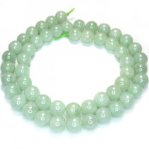 Burma Jade 8mm Round Beads