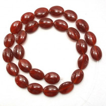 Carnelian 10x14mm Oval Beads