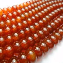 Carnelian 5x10mm Rondelle Beads