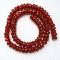 Carnelian 5x8mm Rondelle Beads
