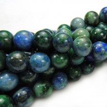Chrysocolla 6mm Round Beads