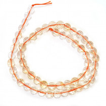 Citrine 7mm 128 faceted 8mm Faceted Round Beads
