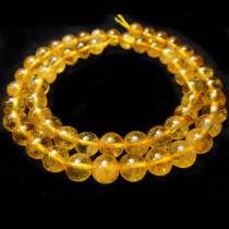 Citrine 8mm Round Beads