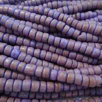 Coco Lavender Wood Beads