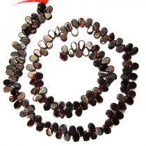 Garnet Drop Style Beads