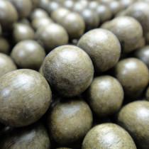 Greywood Round 10mm Wood Beads