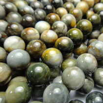 Hawk's Eye 8mm Round Beads