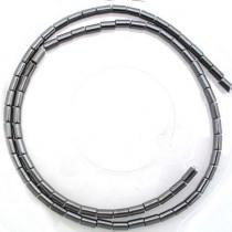 Hematite 3x5mm Tube Beads