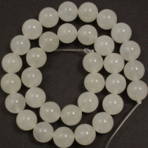 Xingjiang Jade 12mm Round Beads