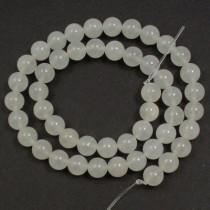 Xingjiang Jade 8mm Round Beads