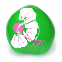 Kukui Nut Green With Flower (Pack 4)