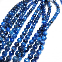 Blue Kyanite 6mm Round Beads