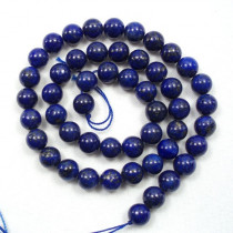 Lapis Lazuli 8mm Round Beads