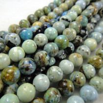 Larimar 6mm Round Beads