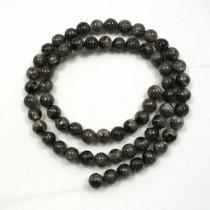 Larvikite 6mm Round Beads