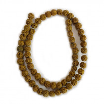 Dyed Lava Rock Tuscan Gold 6mm Beads