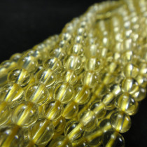 Lemon Quartz 4mm Round Beads