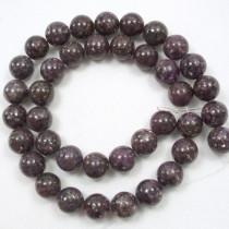 Lepidolite 10mm Round Beads
