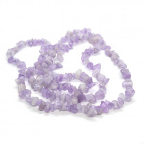 Light Amethyst Chip Beads