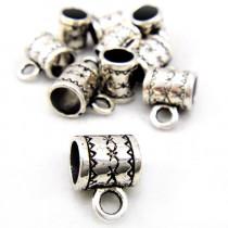 Tibetan Silver 8mm Bead Hanger