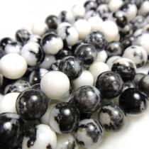 Mexican Jasper 8mm Round Beads