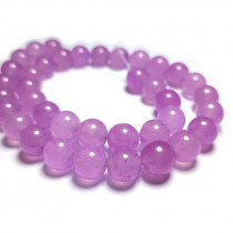 Malay Jade Orchid 10mm Round Beads