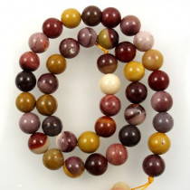 Mookaite 10mm Round Beads