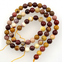 Mookaite 6mm round beads