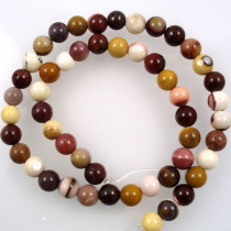Mookaite 8mm Round Beads