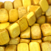 Nangka Triangle Wood Beads