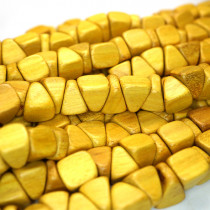 Nangka Triangle Nugget Wood Beads