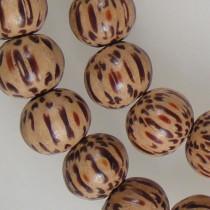 Palmwood 8mm Round Wood Beads