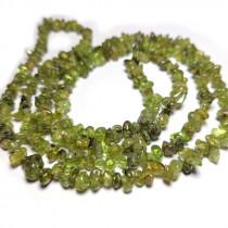 Peridot 5x8mm Gemstone Chip Beads